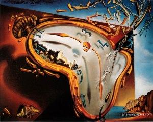 The-melting-clock - Dali 1931
