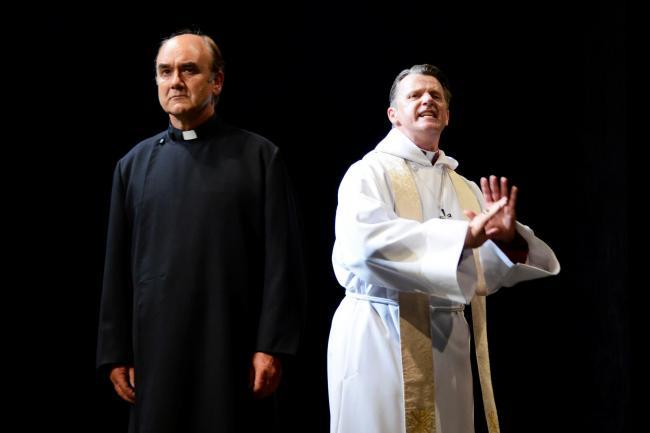 Racing Demon - David Haig (Reverend Lionel Espy), Anthony Calf (Bishop of Southwark) - Photo credit Nobby Clark.jpg.gallery