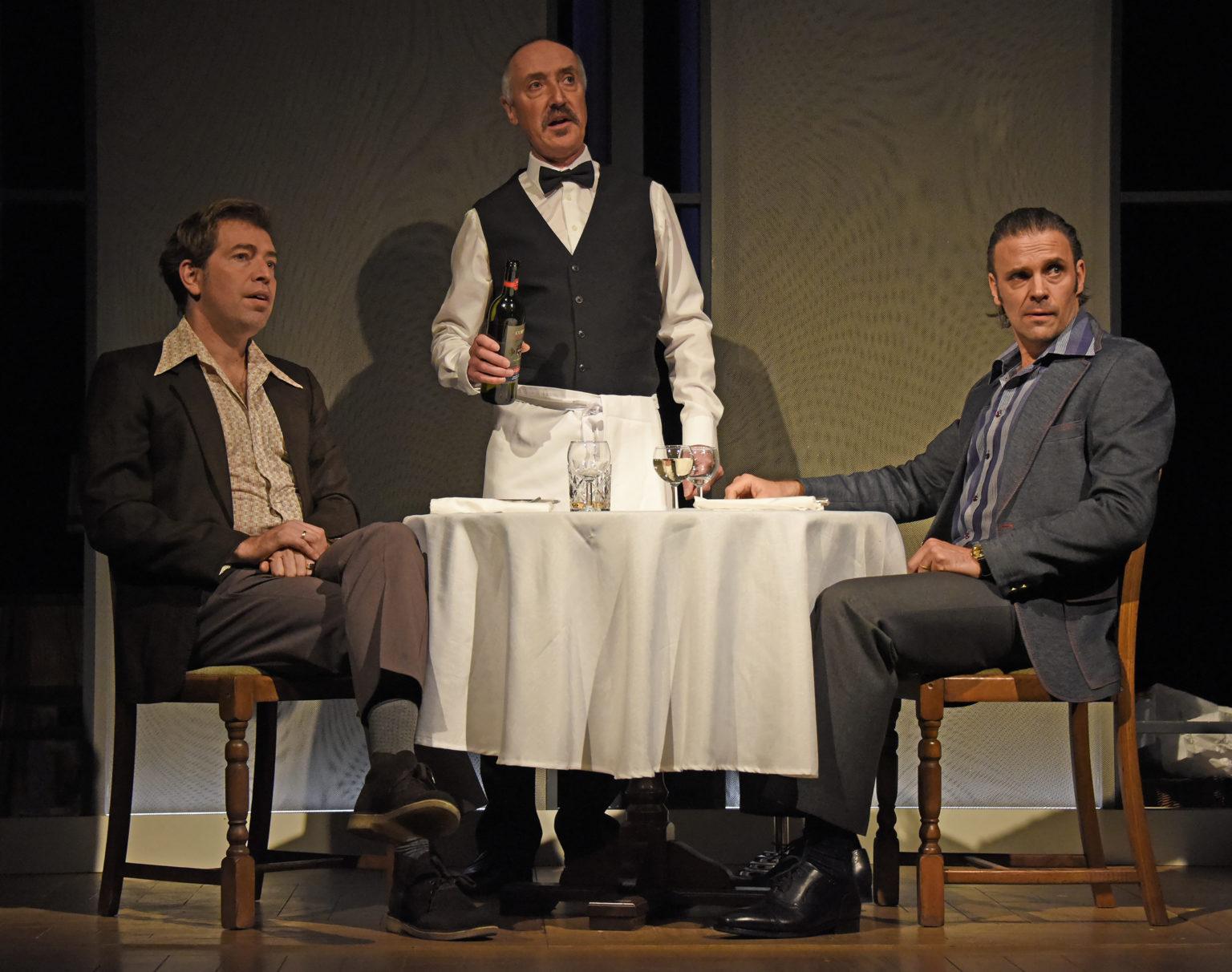 Edward Bennett/Robert Christopher Bianchi/Waiter Joseph Millson/
